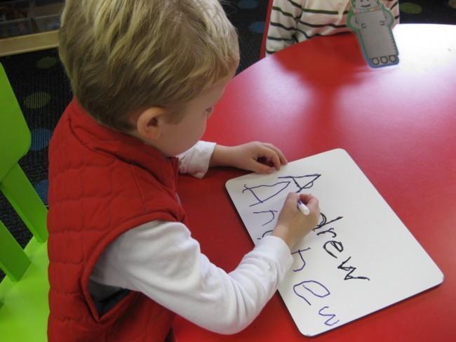 name-writing
