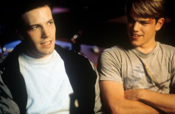 Ben Affleck And Matt Damon In 'Good Will Hunting'