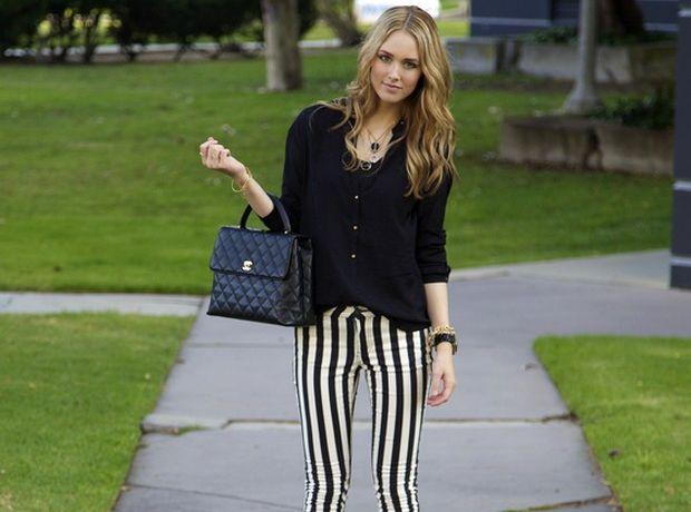 woman+stripes