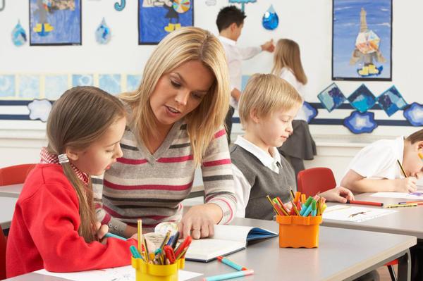 μαθητής και δασκάλα