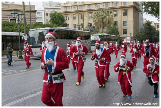 1st ATHENS SANTA RUN 212