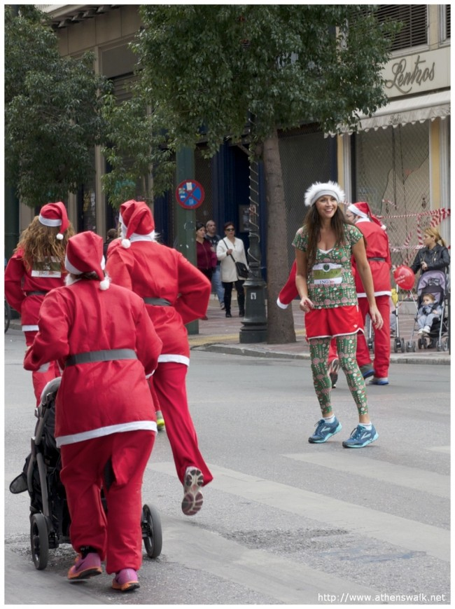 1st ATHENS SANTA RUN 238