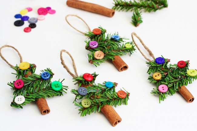 Adorable-Cinnamon-Stick-Tree-Ornaments