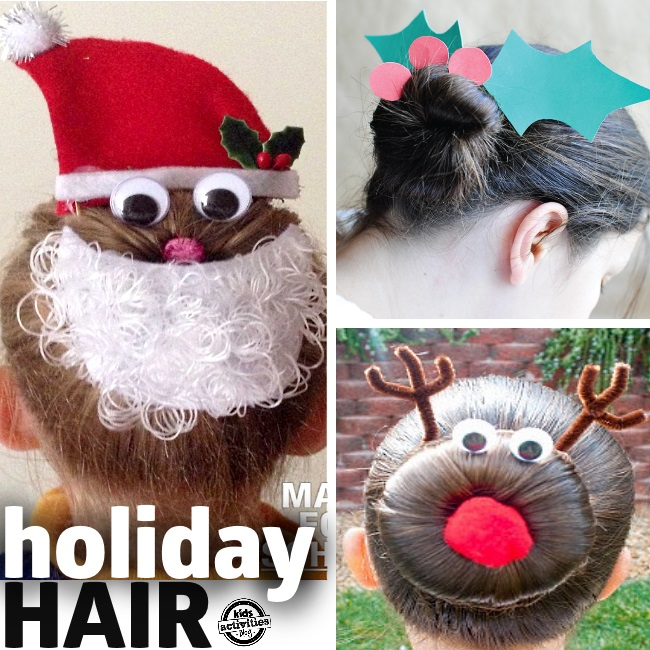 Christmas-Hair-for-Kids