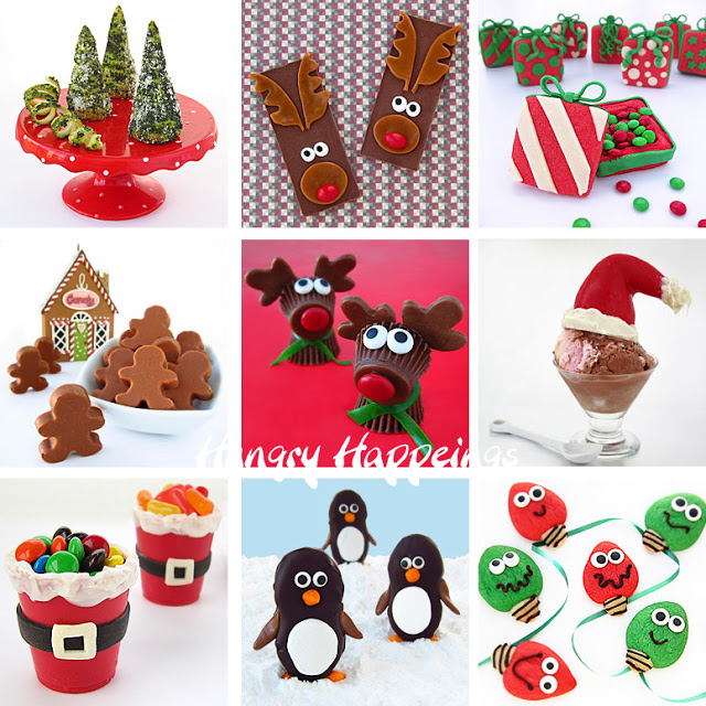 Hungry Happenings Christmas recipes and the best edible crafts for kids and adults 2012 copy
