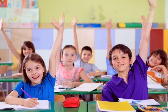 Kids-in-class