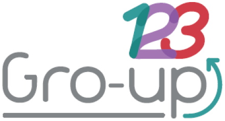 LOGO GRO UP123