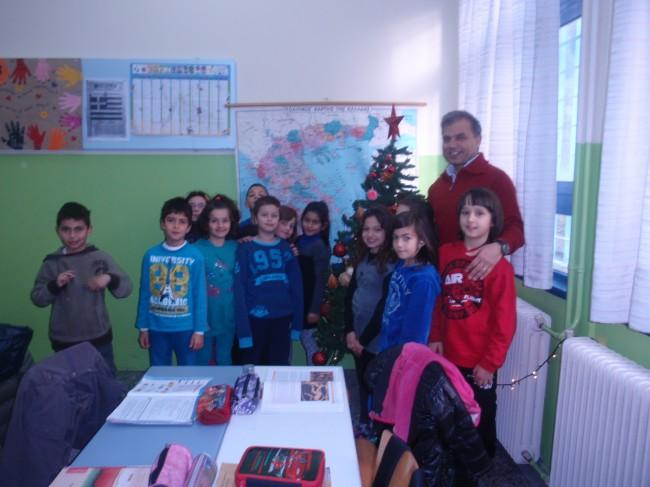 σχολείο Χριστούγεννα