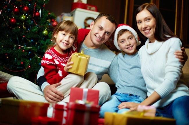 χριστούγεννα με την οικογένεια