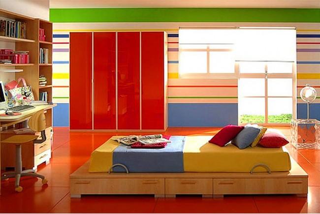 πολύχρωμα-παιδικά-δωμάτια
