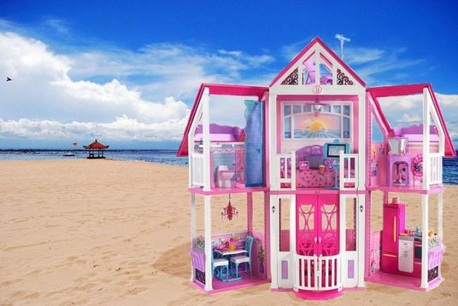 Barbie+house+beach