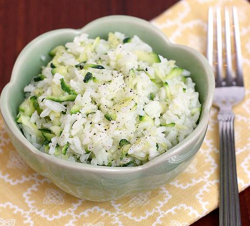 Cheesy rice 2