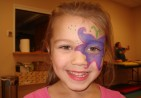 Purple-Face-Painting