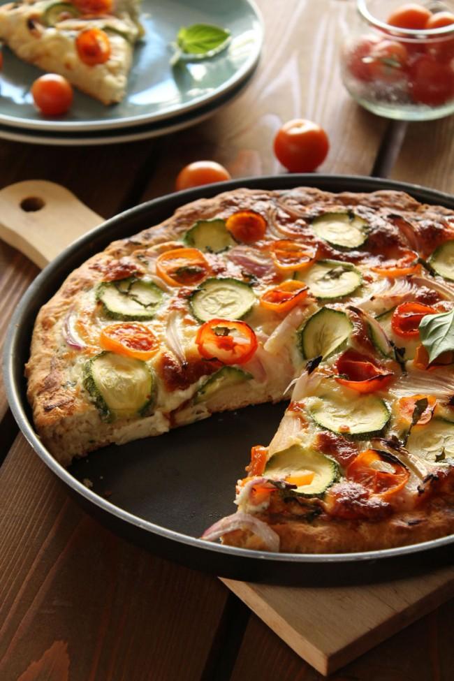Πίτσα με λαχανικά