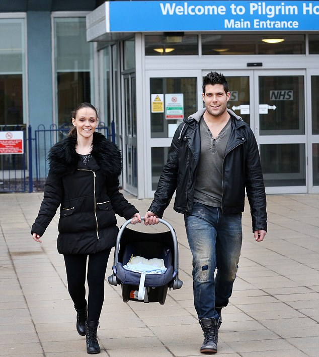 Baby Dax Goes home