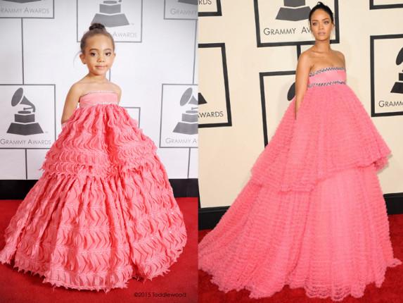 Η Rihanna με φόρεμα Giambattista Valli