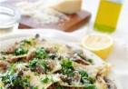 Broken Pasta with Kale, Mushrooms and Sausage