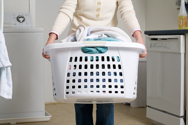 Making-the-Effective-Laundry-Room-Design-basket-to-put-dirty-clothes