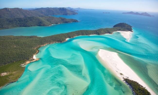 13. Whitehaven Beach, Νησί Whitsunday, Αυστραλία