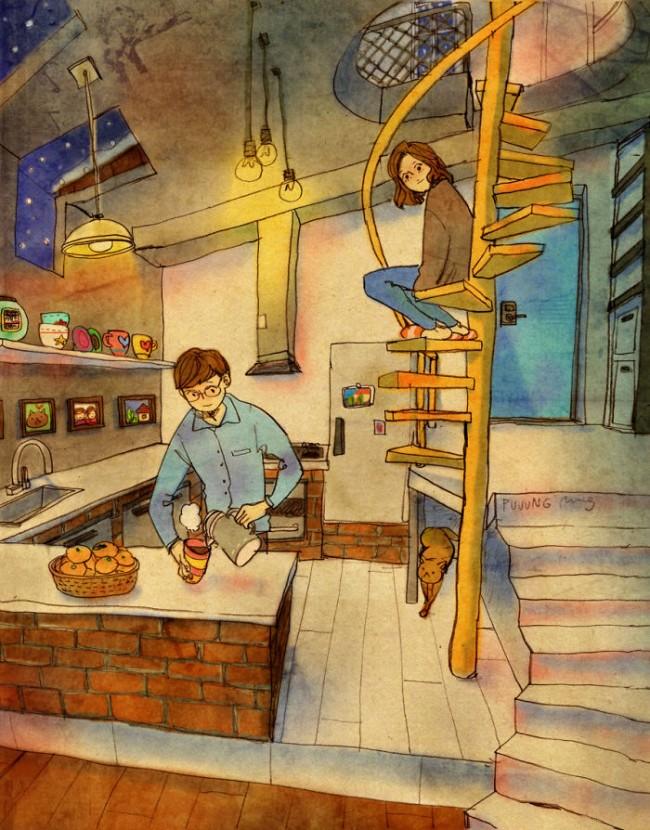sweet-couple-love-illustrations-art-puuung-19__700