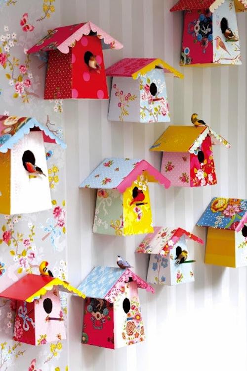 20060eb1a5f0 Κατασκευή για τα παιδιά  ένα χάρτινο σπιτάκι σε υπέροχα χρώματα ...