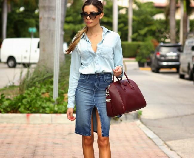 8+1 τρόποι να φορέσετε τη τζιν φούστα σας  517cd609563