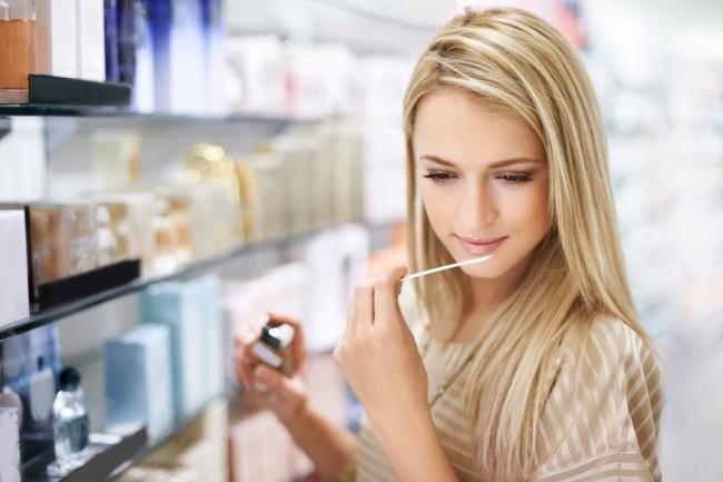Woman-Buys-Perfume