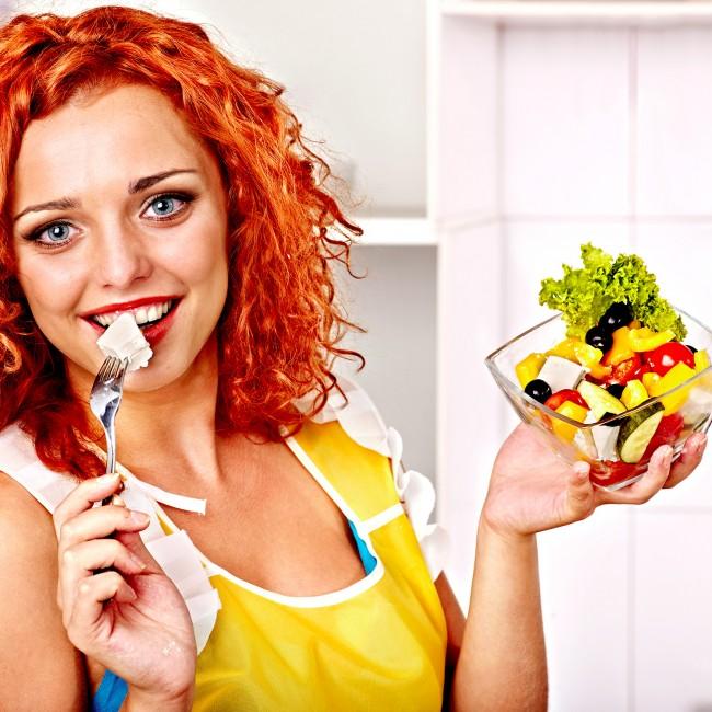 woman-eating-salad-food-diet