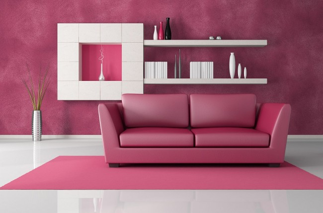 lovely-smart-interior-decoration-in-pink-and-white