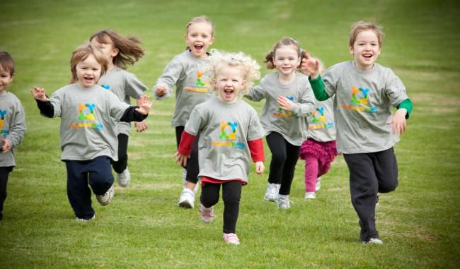 running-kids