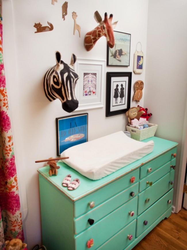 bcb29e08198 Διακόσμηση: Βρεφική αλλαξιέρα – συρταριέρα, στο παιδικό δωμάτιο ...