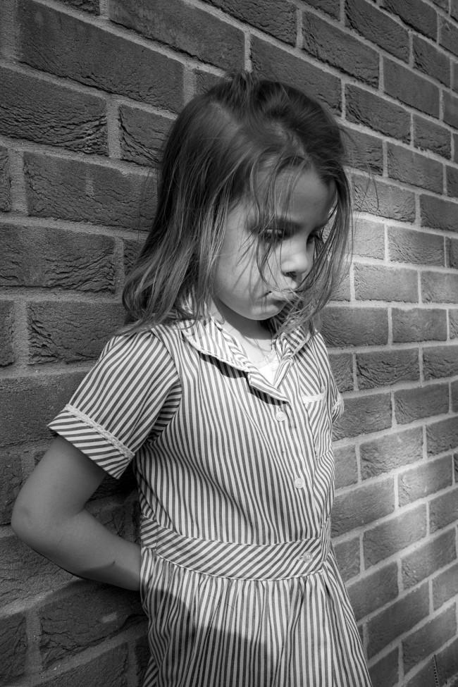 bigstock-Monochrome-Blonde-Girl-Against-3135926