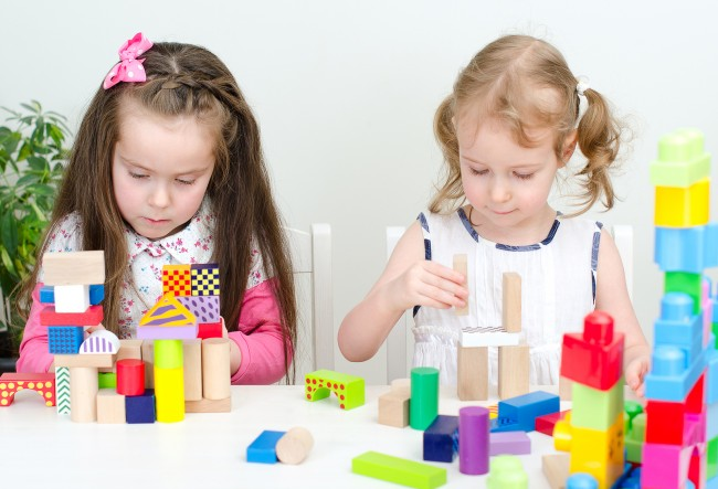bigstock-Two-Little-Girl-Playing-With-B-42710005