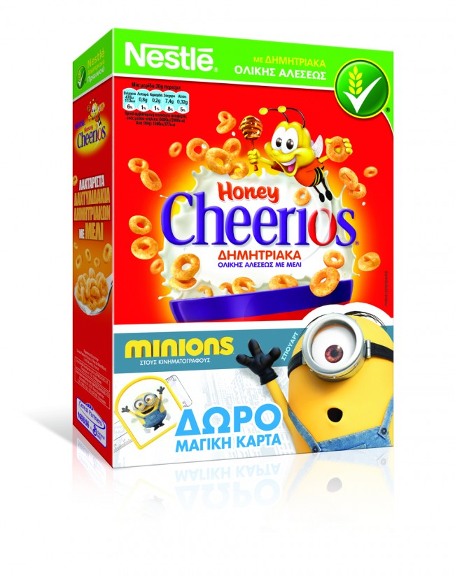 Honey Cheerios MINIONS