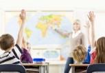 School-Class-hands-up