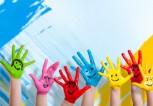 kids-children-hands-colour