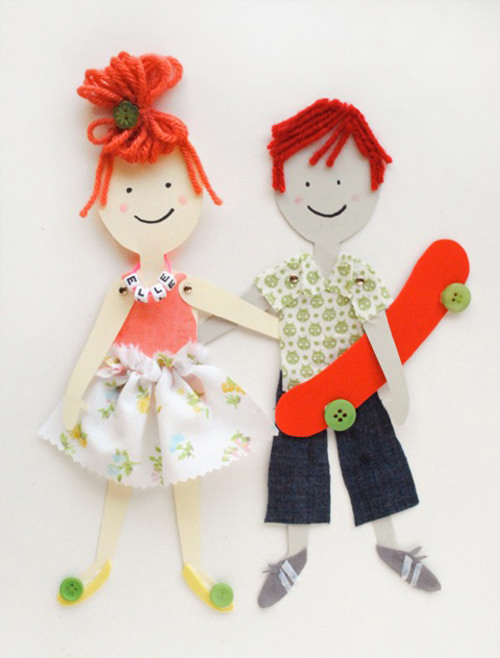 Articulated-Paper-Dolls-Handmade-Charlotte