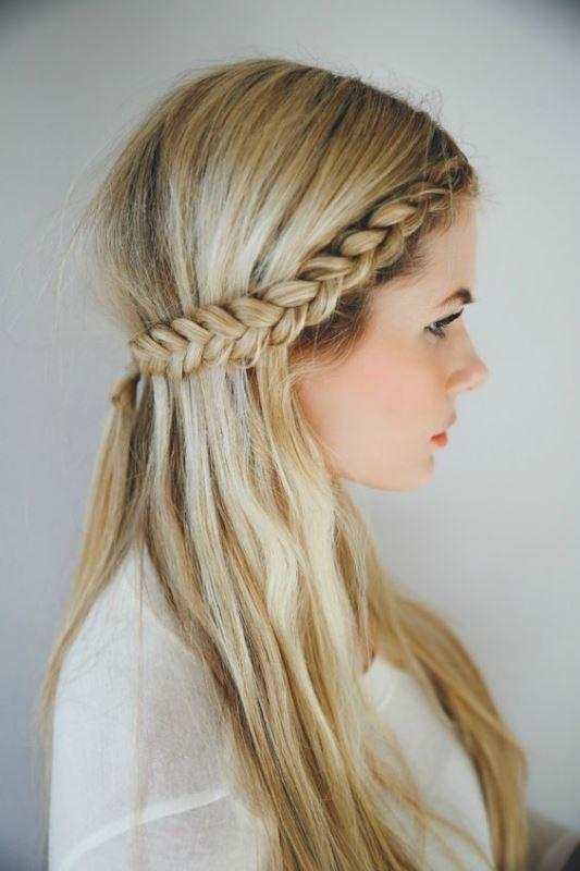 Princess hairlook για το everyday look κι όχι μόνο!