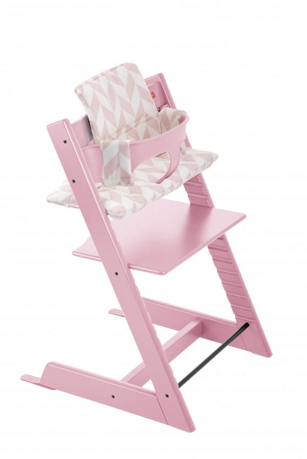 Tripp Trapp 2679 Soft Pink Pink Chevron BS