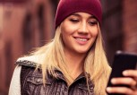 Young-woman-using-smartphone