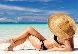 Γυναίκα και ηλιοθεραπεία