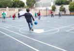 παιχνίδι στα προαύλια σχολείων στη Γλυφάδα