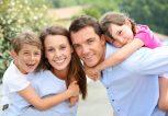 ευτυχισμένες οικογένειες