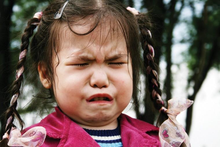 θυμωμένο παιδί