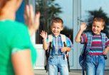 παιδί και πρώτη μέρα στο σχολείο