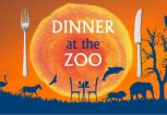 Dinner at the zoo
