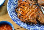 Χοιρινό με ροδάκινο