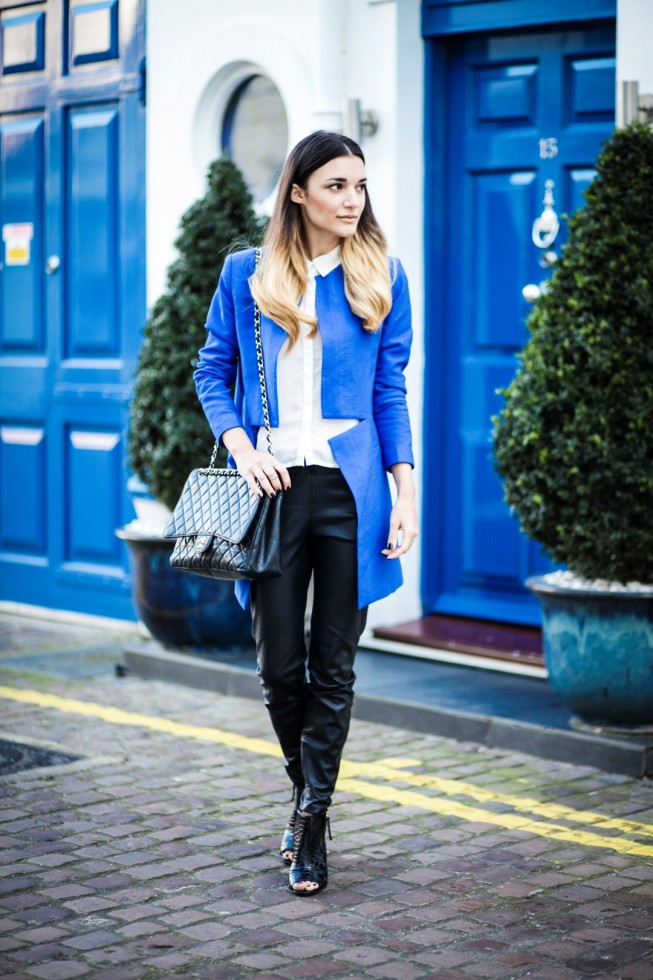 blue-and-black