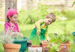 Cute Little Gardeners