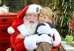 Παιδί και Άγιος Βασίλης